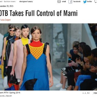 WWD OTB takes full control of Marni